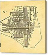 Henry Ford Transmission Mechanism Patent Art  2 1911 Canvas Print