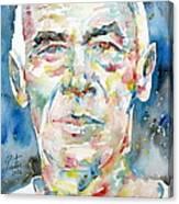 Henry Miller Portrait.1 Canvas Print