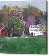 Henry Warren's Red Barn Canvas Print
