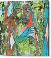 Her Avatars Canvas Print