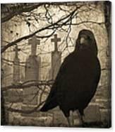 Her Graveyard Canvas Print