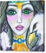 Her Journey Canvas Print