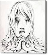 Her Prayers Canvas Print