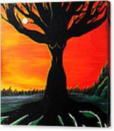 Her Roots Run Deep Canvas Print