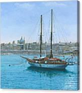 Hera 2 Valletta Malta Canvas Print