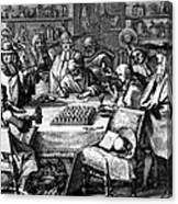 Herbal Medicine, 1676 Canvas Print