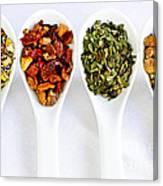 Herbal Teas Canvas Print