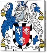 Herbert Coat Of Arms Irish Canvas Print