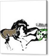 Herd Canvas Print