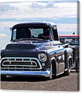 Here Come The Hot Rod Boys Canvas Print