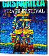 Here Comes Gasparilla Canvas Print