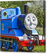 Here Comes Thomas The Train Canvas Print