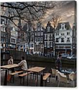 Kaizersgracht 451. Amsterdam. Holland Canvas Print