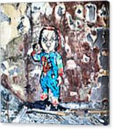 Here's Chucky Canvas Print