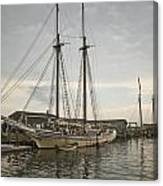Heritage At Dock Canvas Print