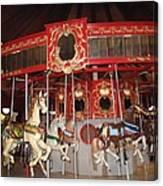 Heritage Looff Carousel Canvas Print