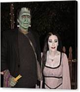 Herman And Lilly Munster Canvas Print