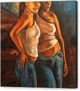 Hermanas Canvas Print