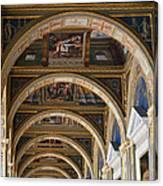 Hermitage Arches Canvas Print