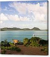 Hermitage Bay Panorama Canvas Print