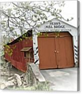 Herr's Mill Historic Bridge Canvas Print