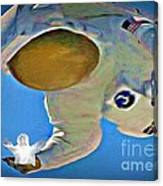 Hes Got The Whole World In His Hands Canvas Print