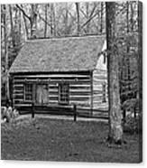 Hesler Log Home 10234b Canvas Print