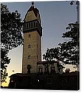 Heublein Tower Sunset Canvas Print