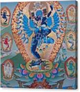 Hevajra With 8 Dakinis Canvas Print