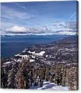 Hevenly Ski Resort In South Lake Tahoe Canvas Print