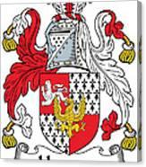 Hewson Coat Of Arms Irish Canvas Print