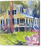 Heyward House Canvas Print