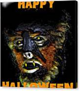Hh Wolfman Card Style Canvas Print