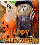 Feel Good Happy Halloween Canvas Print