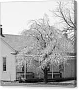 Hickory Grove Meeting House Canvas Print