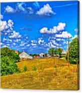 Hicks Farm #3 Canvas Print