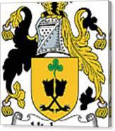 Hickson Coat Of Arms II Kerry Ireland Canvas Print