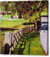 Hidden Brook Farm Canvas Print