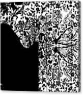 Hidden By Da Mask Canvas Print