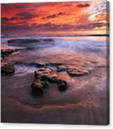 Hidden By The Tides Canvas Print