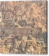 Hidden Castle Canvas Print