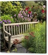 Hidden Garden Charm Canvas Print