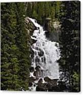 Hidden Falls Jenny Lake Canvas Print