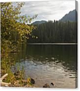 Hidden Lake No. 1 Canvas Print