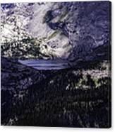 Hidden Lakes Canvas Print