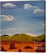 Hidden Mountain Canvas Print