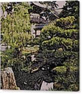 Hidden Pagoda Canvas Print