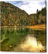 Hidden Paradise Suluklu Gol  Suluklu Lake Canvas Print