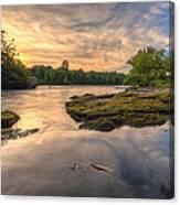 Hidden River Canvas Print