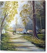 Hidden  Village  Ireland Canvas Print